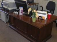 Office furniture~ We have 3 large executive desks,