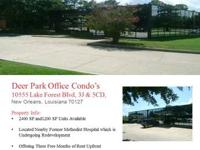Office Suites For Lease:.  Deer Park Office Condo's.