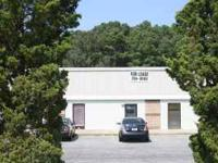 Office/warehouse space off I-20 convenient to I-26 at