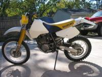 1997 suzuki dr350 4 cycle single cylinder dirt bike