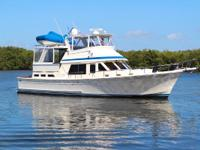 Cruising Comfort in a Heavy Stable Motor Yacht with