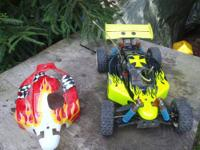 Selling an OFNA 9.5 MBX 1/8th Scale Off Road Buggy as I