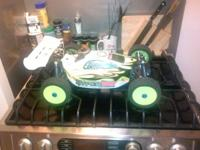 I have a ofna hyper 7 pcr edition 1/8 4x4 buggy with a