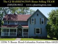 Ohio Real Estate-13596 N Boone Rd(Columbia Station,Ohio