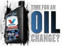 if you need to do the oil change,  come to us, and we