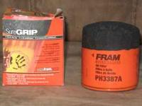 FRAM extra guard oil filter. PH3387A New still in box.