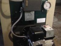 Used oil fired boiler. Price is negotiable. Please feel