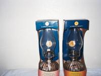 Have 2 oil lamps that are NEW IN BOX. This is a must