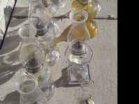 Have 8 oil lamps, some older than others. Your choice