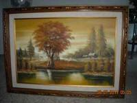 Very beautiful wall hanging Oil Painting for sale.