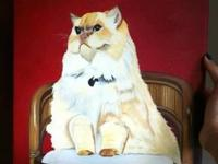 I've been painting pet portraits for about 8 years.