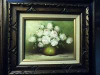 2 oil paintings for sale.Still life.Painted by Robert