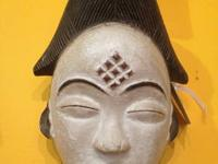 Old African Ceremonial Mask Movable Mouth Dan People,