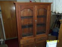 up for sale is a antique jelly cabinet in a farm fresh