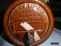 A vintage Old Bardstown Prime Sour Mash Bourbon Barrel