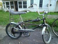I HAVE 5 OR 6 OLD BIKES. 1) 1969 AMF AREO SUPER BEE