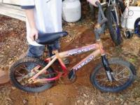 I have 2 old kids bikes - not in good shape $5 each