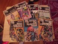OLD COMICBOOK STYLE  NOVELS  CLASSIC STORIES BEST OFFER