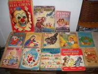 14 OLD BOOKS $35.00 They are very loved meaning not in