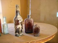 Lots of old bottles dug from railroad and mining dumps