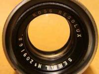 Hi, I am looking to buy older camera lenses - Minolta,