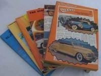 "Complete set of ""Old Cars Weekly"" volume 1 thru 6."