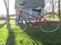 Here's an old Classic Schwinn Traveler Bike in