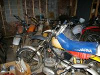 I AM SELLING OLDER DIRT BIKES AND PARTS: BENELLI,