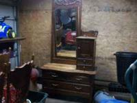 this is a antique dresser first 100.00  Location: