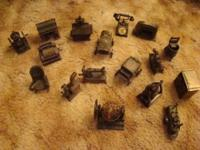 I have 18 old fashioned pencil sharpeners I'm selling.