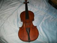 I have a very old fiddle that I would like to sell the