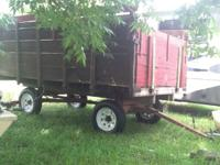 A nice old farm wagon in very good shape SWEET a piece