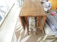 For Sale: This is a gateleg table from the 30's or