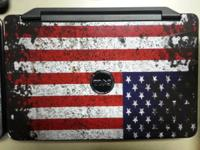 Like New Black w/ US Flag Skin (also available with the