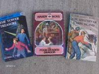 A great collection of Hardy boys Books---36 in all