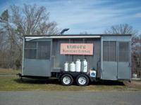 Old Hickory Cooker/Smoker. Cooks 90 Boston Butts at a