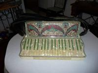 Up for sale is an old Hohner Accordion Piano #NO B