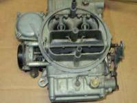 Old factory ford holley 4 barrel carb. see picture for