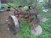 I have two plows available for sale terrific for a task