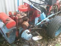 old jacobson garden tractor project.10 hp kohler
