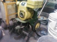Old John Deere tiller-recoil needs to be fixed and a