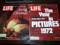 Several old life magazines. To many to list. In good