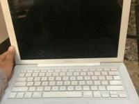 Old MacBook for sale. Im quite sure I bought it in 2008