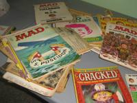 Iam selling a box full of old Mad magazines from early