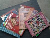 I have a plastic container full of old magazines 1950