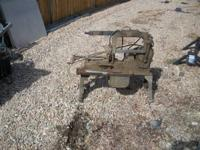 Have good working saw, made by Miller Knuth, see