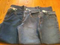 I HAVE 3 PAIRS OF OLD NAVY JEANS FORSALE WORE ONCE OR