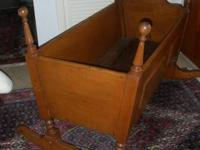 beautiful   and  in good condition baby cradle  ready