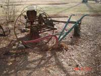 I have a old plow $125.00 or best offer call Phil at