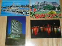 Here are 4 old postcards from British Columbia. The